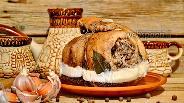 Фото рецепта Свиной рулет из брюшины вареный