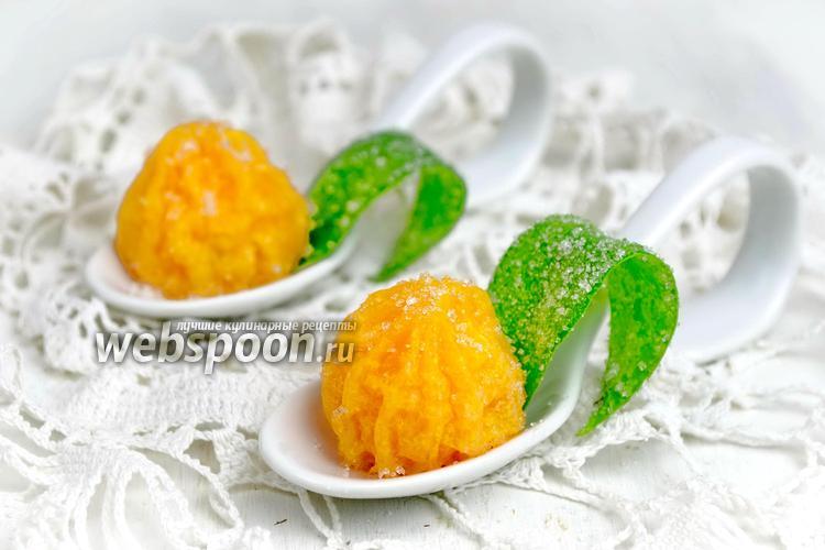 Фото Карамелизированные мандарины