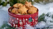 Фото рецепта Творожное печенье с кокосом