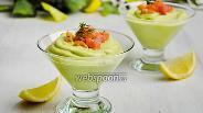 Фото рецепта Мусс из авокадо