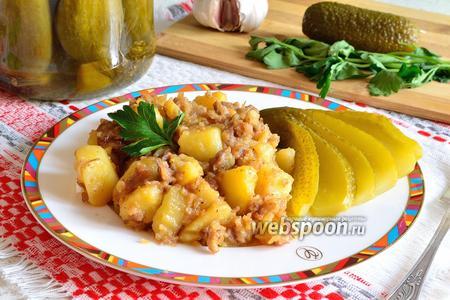Фото 1 Блюда на природе в одной посуде
