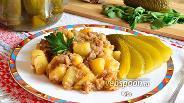 Фото рецепта Картошка с тушёнкой