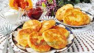 Фото рецепта Сырники с тыквой