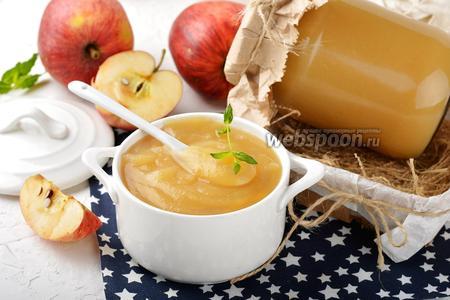 Фото рецепта Яблочное пюре в мультиварке