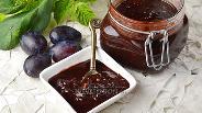 Фото рецепта Варенье из сливы с какао и маслом