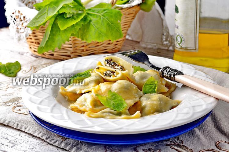 Фото Равиоли со шпинатом и рикоттой