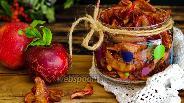Фото рецепта Сухое варенье из яблок