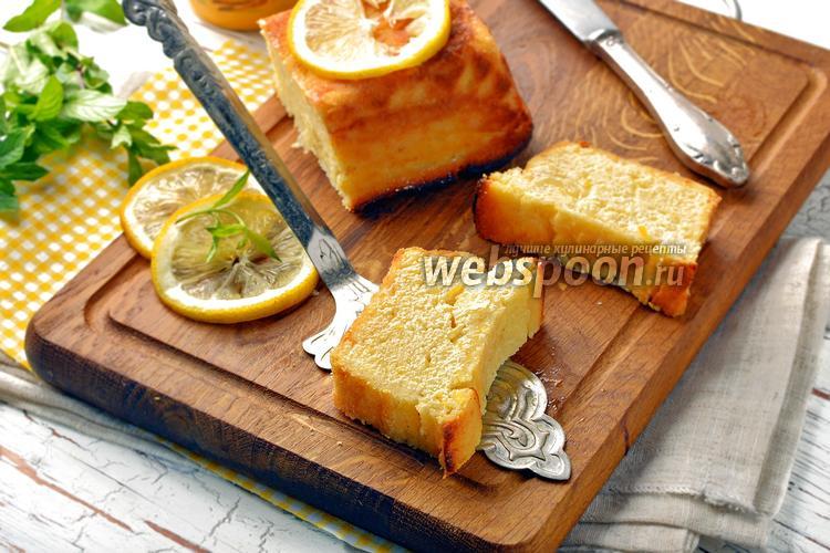 Фото Творожная запеканка с лимоном
