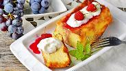 Фото рецепта Творожная запеканка с мукой в духовке