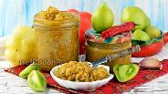 Фото рецепта Аджика из зелёных помидор