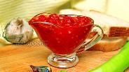 Фото рецепта Аджика из помидор и чеснока с варкой на зиму