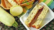 Фото рецепта Творожная запеканка с кабачками