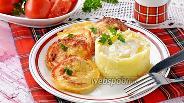 Фото рецепта Помидоры в сырном кляре