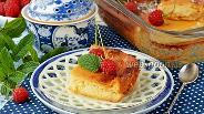 Фото рецепта Творожная запеканка с мёдом
