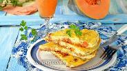 Фото рецепта Омлет с тыквой