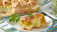 Фото рецепта Пирожки с горохом в духовке