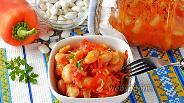 Фото рецепта Перец с фасолью на зиму