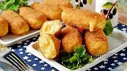 Фото рецепта Картофельные палочки с сыром