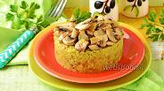 Фото рецепта Гороховая каша с грибами