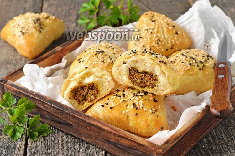 Фото Пирожки с говяжьей печенью