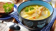 Фото рецепта Суп с вёшенками и курицей