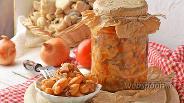 Фото рецепта Фасоль с грибами на зиму