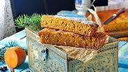 Фото рецепта Манник с тыквой на кефире