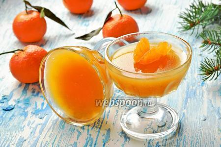 Желе из мандаринов