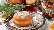 Фото рецепта Постные пончики