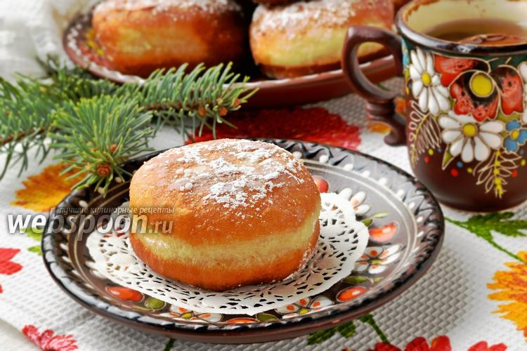 Фото Постные пончики
