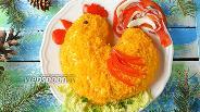 Фото рецепта Салат Золотой петушок