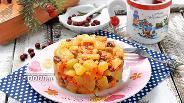 Фото рецепта Морковь тушёная с яблоками