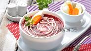 Фото рецепта Суп-пюре из свёклы