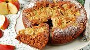 Фото рецепта Коврижка с яблоками