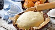 Фото рецепта Дрожжевое тесто на простокваше