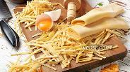 Фото рецепта Домашняя лапша на желтках