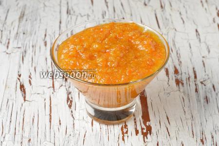 Варенье из мандаринов с кожурой готово. Горячее варенье можно закатать в стерилизованные банки или сразу использовать.