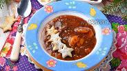 Фото рецепта Фруктовый суп из сухофруктов