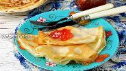 Фото рецепта Блины на простокваше