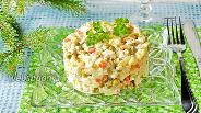 Фото рецепта Оливье со скумбрией