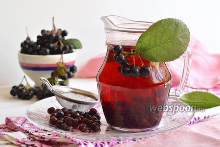 Фото рецепта Компот из черноплодной рябины