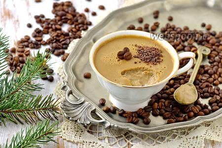 Десерт «Кофе по-баварски»