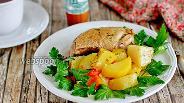 Фото рецепта Утка с картошкой в мультиварке