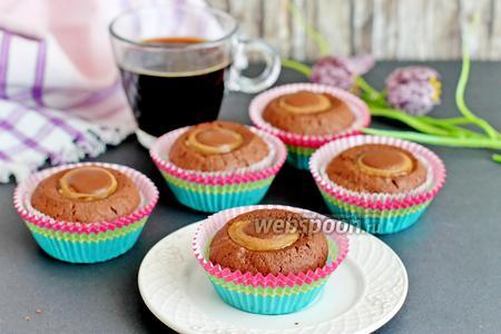 Фото рецепта Кексы с конфетами