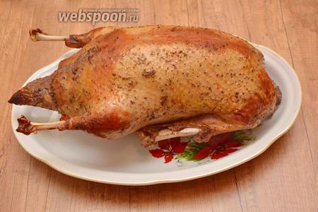 Готовое блюдо подавать в горячем виде. Приятного аппетита!