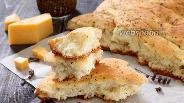 Фото рецепта Фокачча с сыром и луком