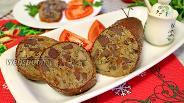 Фото рецепта Фаршированная гусиная шейка