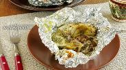 Фото рецепта Пеленгас в фольге