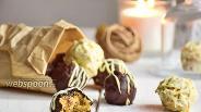 Фото рецепта Нутовые конфеты с финиками