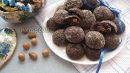 Фото рецепта Шоколадное печенье с карамелью